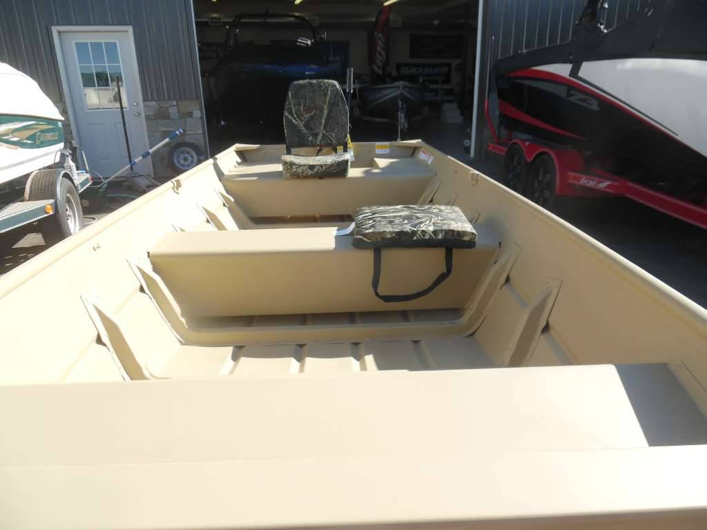 2016 Crestliner 12' Extra-Wide Jon Boat Package in Spearfish, South Dakota - Photo 3