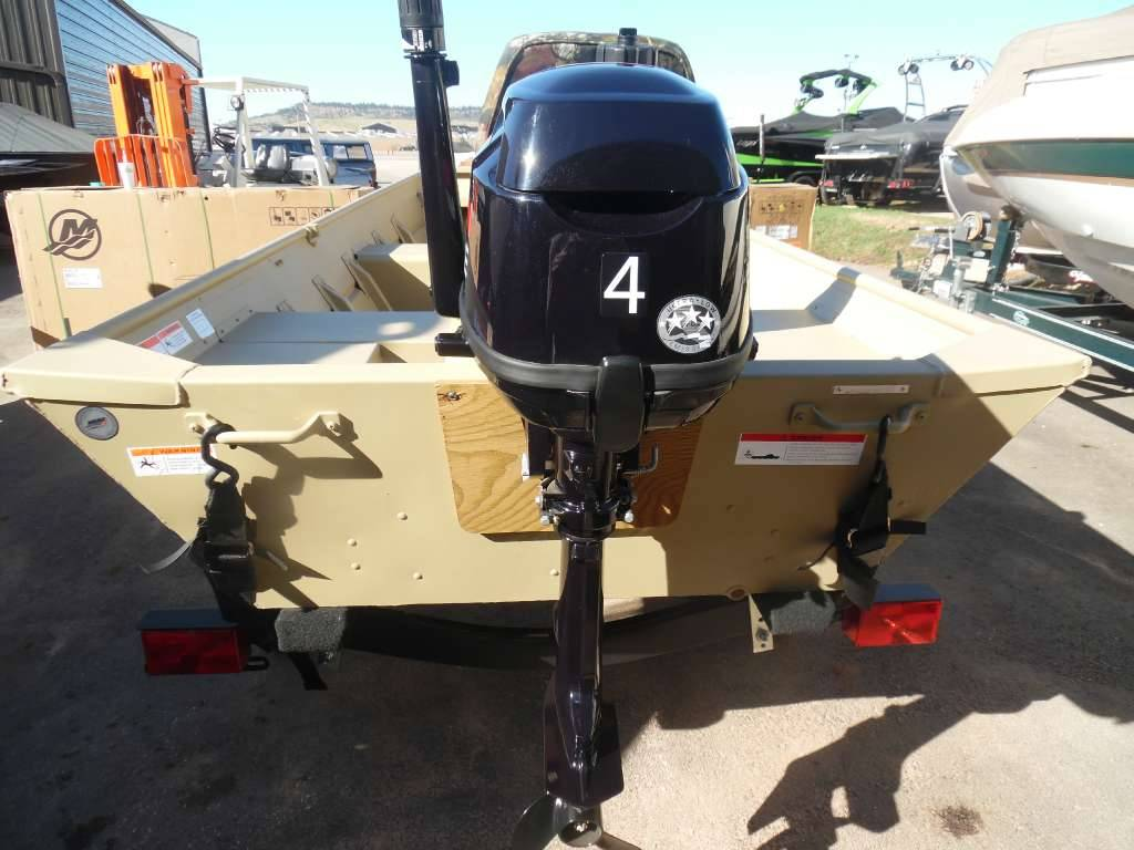 2016 Crestliner 12' Extra-Wide Jon Boat Package in Spearfish, South Dakota - Photo 5