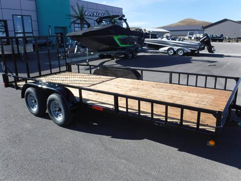 2021 Echo Trailers UTV + 1-ATV Trailer XL length 17', Tandem Axle in Spearfish, South Dakota