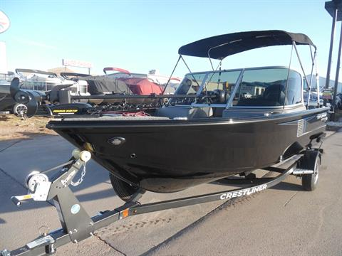 2017 Crestliner 1650 Fish Hawk WT in Spearfish, South Dakota