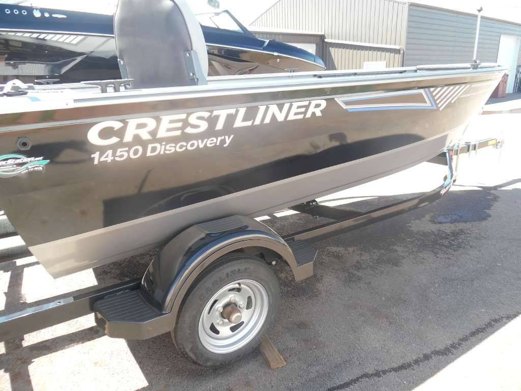 2016 Crestliner 1450 Discovery Tiller in Spearfish, South Dakota