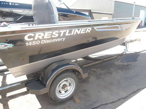 2016 Crestliner 1450 Discovery Tiller in Spearfish, South Dakota - Photo 1