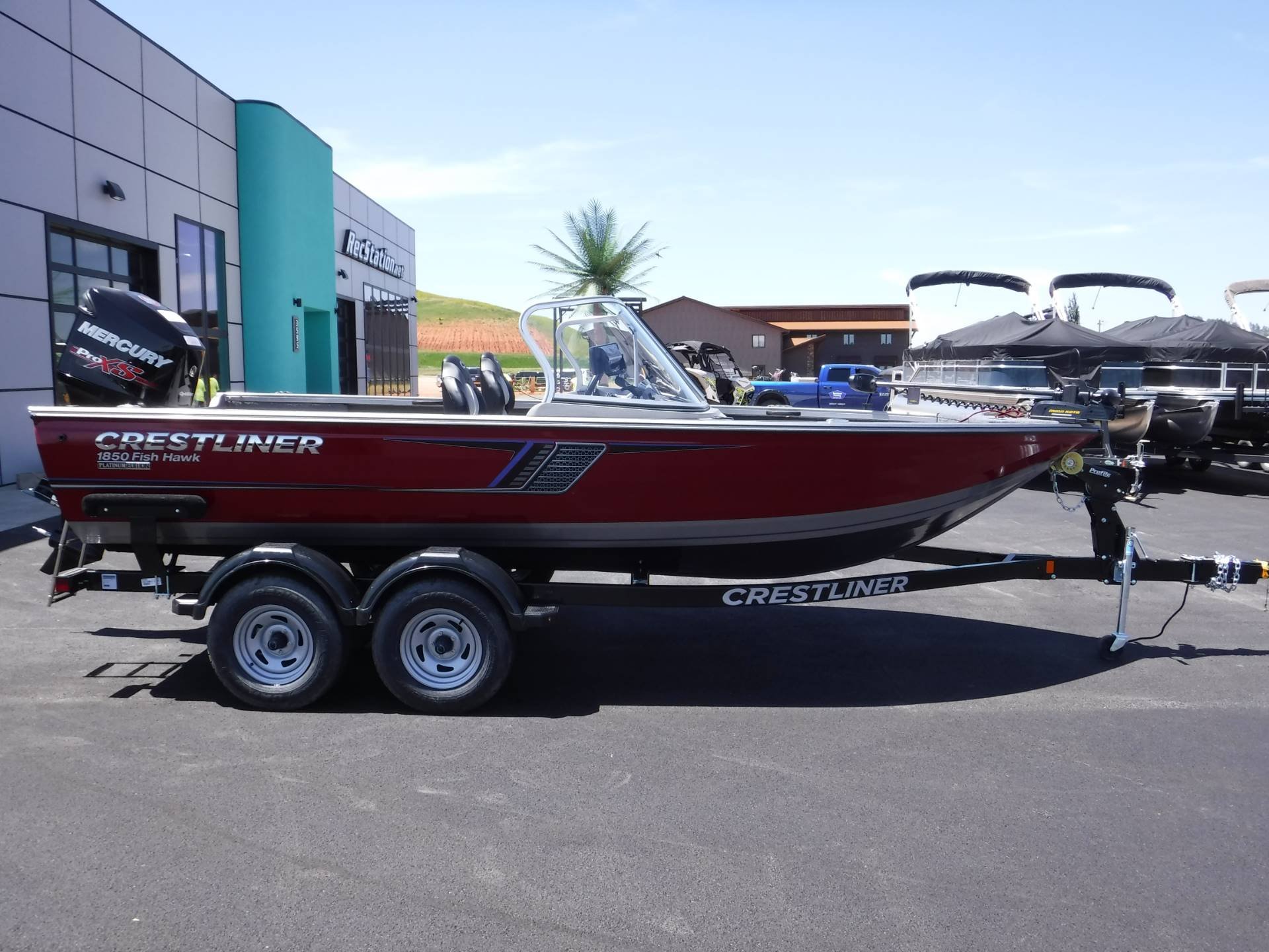 2018 Crestliner 1850 Fish Hawk WT in Spearfish, South Dakota