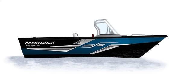 2020 Crestliner CSF225 2250 Sportfish in Spearfish, South Dakota