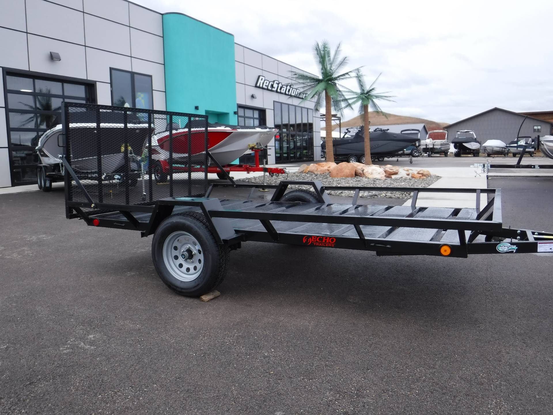 2021 Echo Trailers 2-Place Extra-Width Extra-Length ATV/UTV Trailer in Spearfish, South Dakota - Photo 1