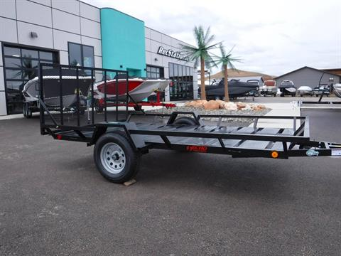 2021 Echo Trailers 2-Place Extra-Width Extra-Length ATV/UTV Trailer in Spearfish, South Dakota