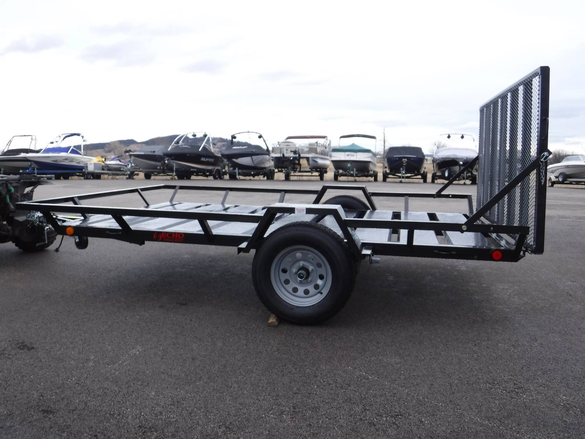 2021 Echo Trailers 2-Place Extra-Width Extra-Length ATV/UTV Trailer in Spearfish, South Dakota - Photo 5