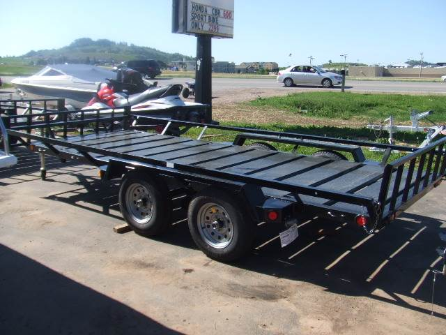 2017 Echo Trailers 3 Place ATV/UTV Trailer in Spearfish, South Dakota