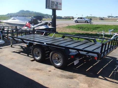 2017 Echo Trailers 3 Place ATV/UTV Trailer in Spearfish, South Dakota - Photo 2
