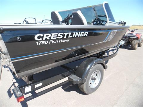 2017 Crestliner 1750 Fish Hawk WT in Spearfish, South Dakota