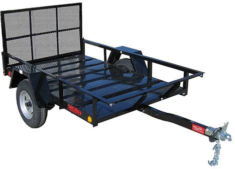2021 Echo Trailers 1-Place ATV/Lawnmower Trailer in Spearfish, South Dakota