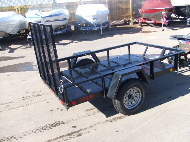 2021 Echo Trailers 1-Place ATV/Lawnmower Trailer in Spearfish, South Dakota - Photo 8