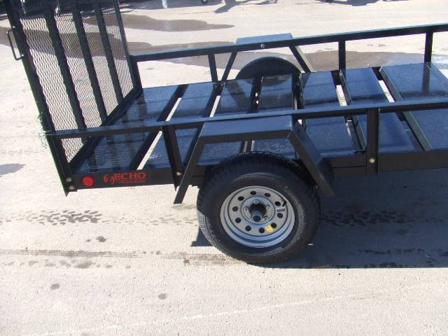 2021 Echo Trailers 1-Place ATV/Lawnmower Trailer in Spearfish, South Dakota - Photo 9