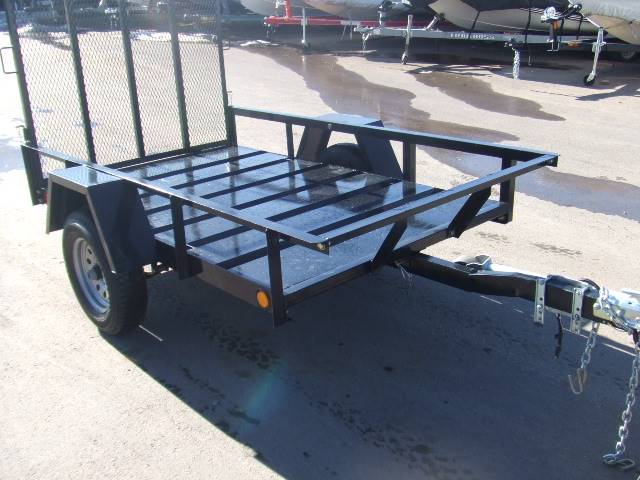 2021 Echo Trailers 1-Place ATV/Lawnmower Trailer in Spearfish, South Dakota - Photo 10