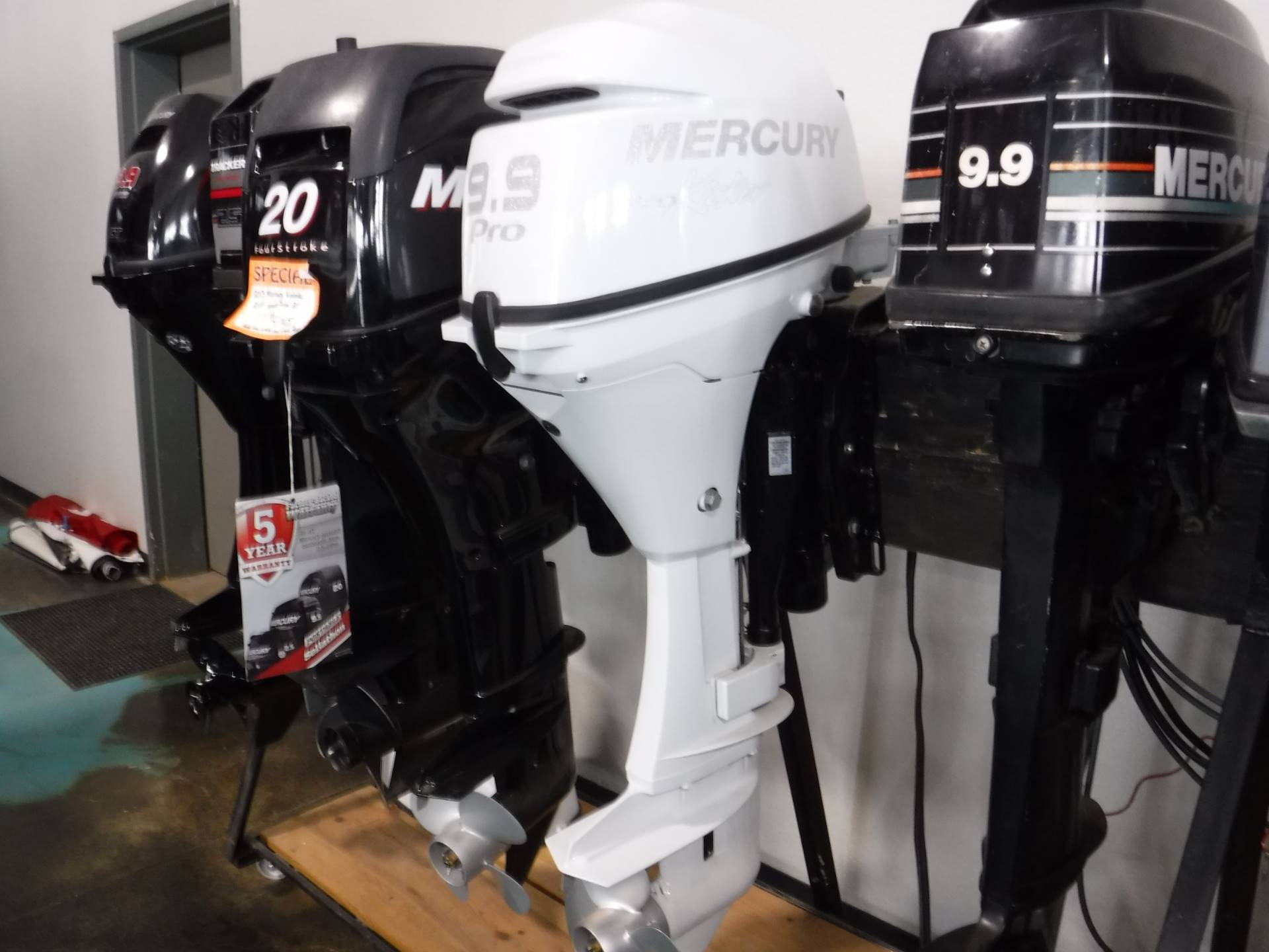 Mercury Marine 9.9ELPT Command Thrust ProKicker FourStroke in Spearfish, South Dakota - Photo 2