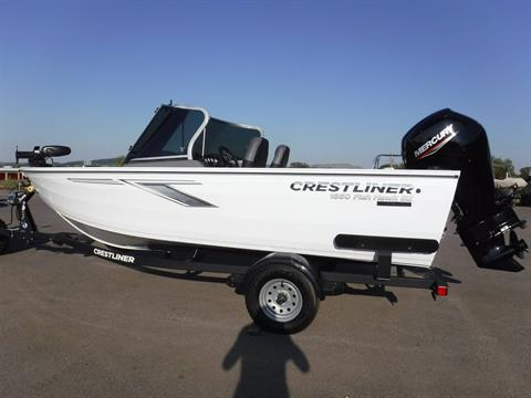 2021 Crestliner 1650 Fish Hawk SE WT in Spearfish, South Dakota