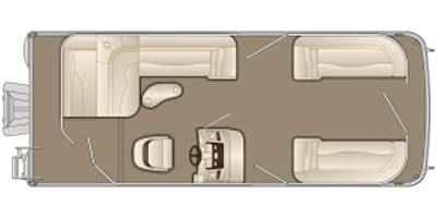 2020 Bennington 24' Tri-Toon Package- Layout Choice in Spearfish, South Dakota - Photo 2