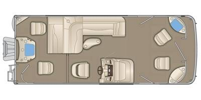 2020 Bennington 24' Tri-Toon Package- Layout Choice in Spearfish, South Dakota - Photo 3