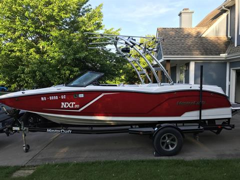 2015 Mastercraft NXT20 in Spearfish, South Dakota