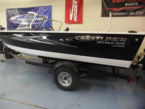 2017 Crestliner 1850 Super Hawk in Spearfish, South Dakota