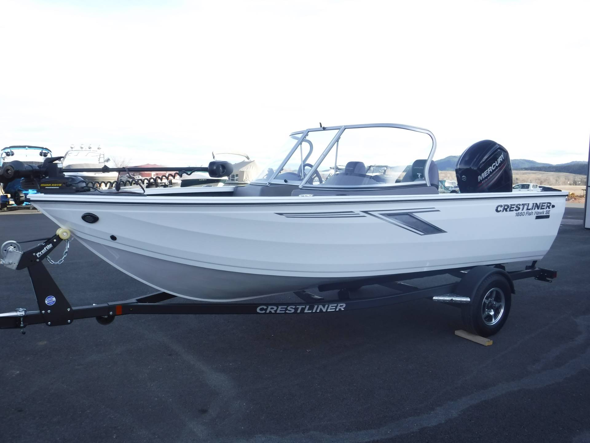 2019 Crestliner 1650 Fish Hawk in Spearfish, South Dakota - Photo 4