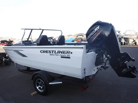 2019 Crestliner 1650 Fish Hawk in Spearfish, South Dakota - Photo 3