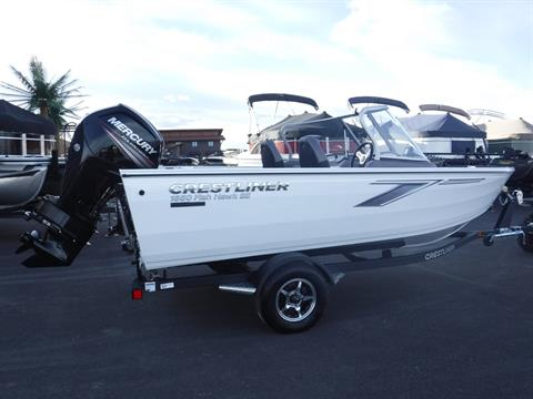 2019 Crestliner 1650 Fish Hawk in Spearfish, South Dakota - Photo 1