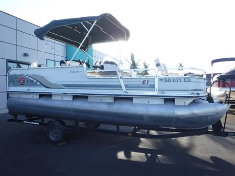 2001 Sun Tracker 21' Fishing Barge in Spearfish, South Dakota