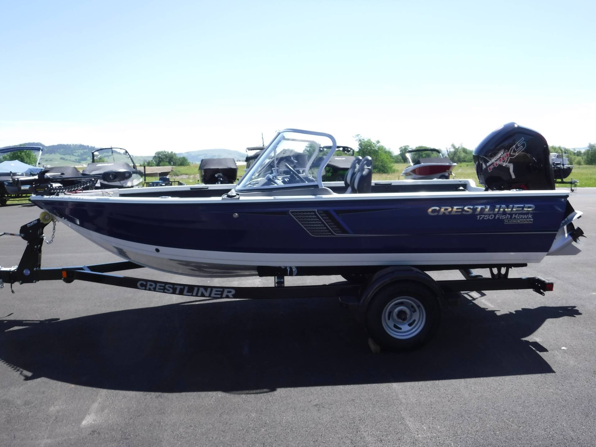 2018 Crestliner 1750 Fish Hawk WT in Spearfish, South Dakota