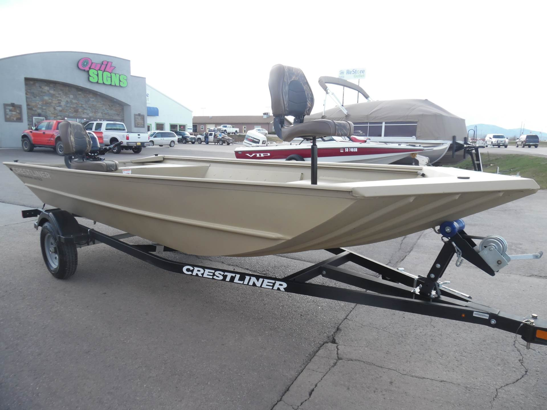 2016 Crestliner 1756 Retriever Jon Deluxe in Spearfish, South Dakota - Photo 6