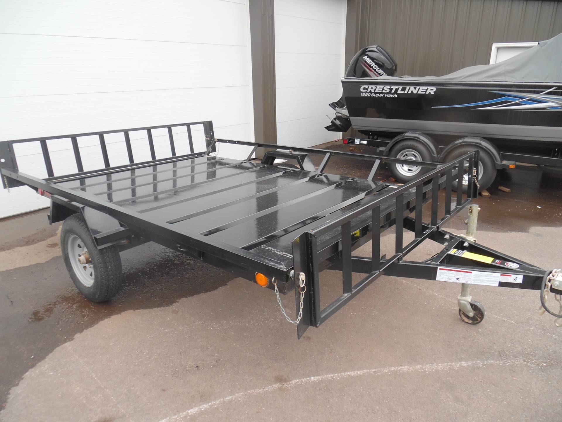 Carry On 7 X 12 Atv Utility Trailer Or Equipment Hauler