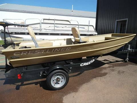 2017 Crestliner 12' Extra-Wide Jon Boat in Spearfish, South Dakota - Photo 2