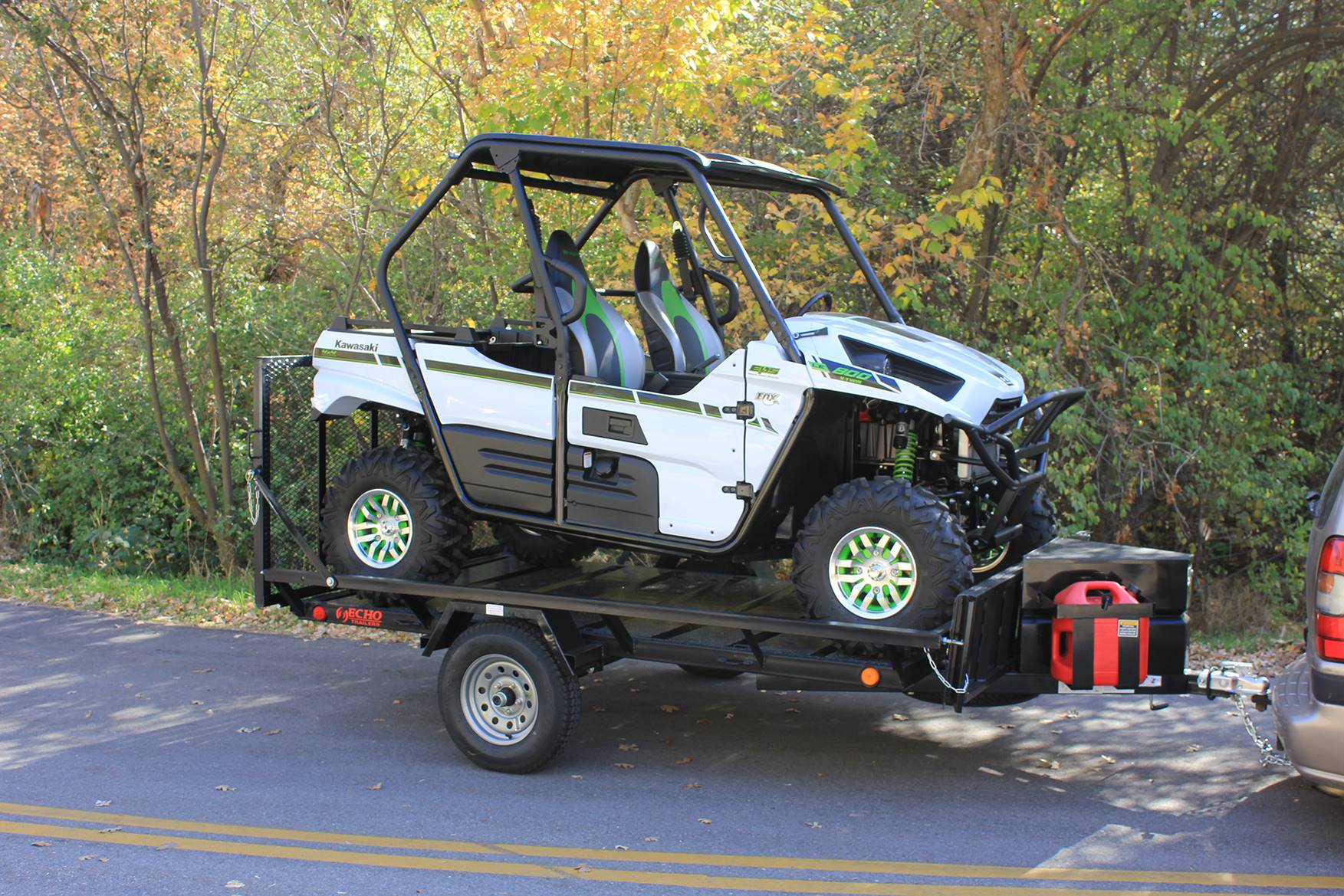 2021 Echo Trailers 2-Place Extra-Width ATV/ 1 Place UTV Trailer in Spearfish, South Dakota - Photo 9