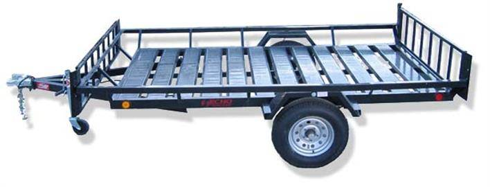 2021 Echo Trailers 2-Place Extra-Width ATV/ 1 Place UTV Trailer in Spearfish, South Dakota - Photo 8