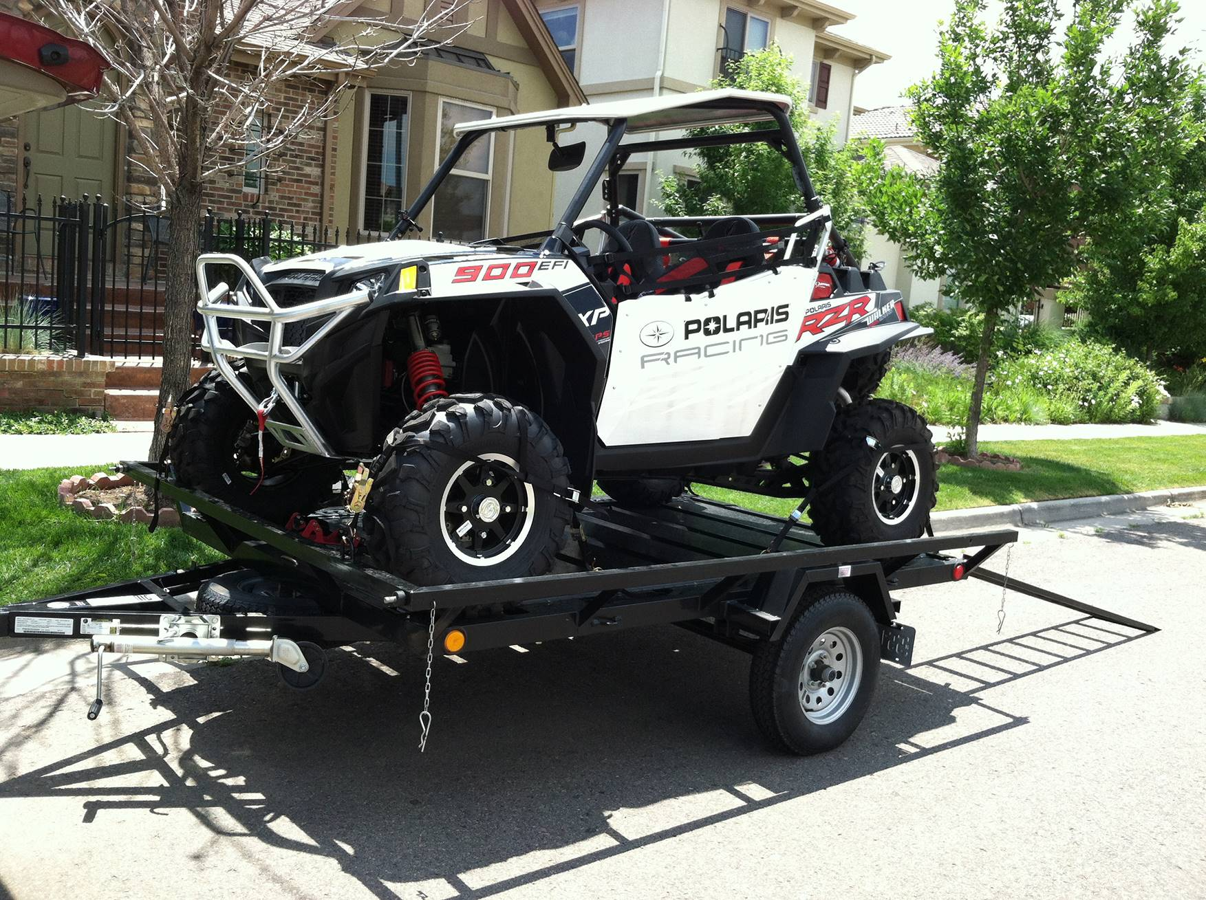 2021 Echo Trailers 2-Place Extra-Width ATV/ 1 Place UTV Trailer in Spearfish, South Dakota - Photo 1