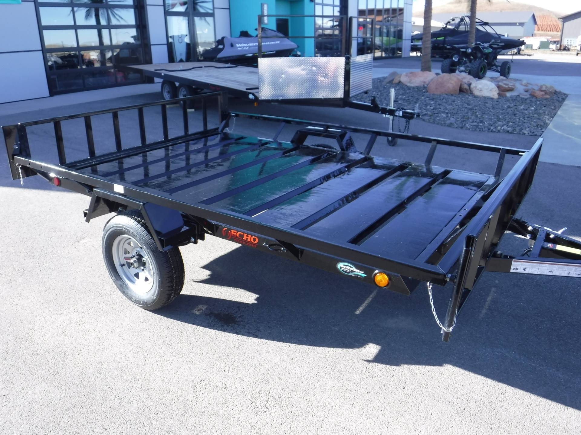 2021 Echo Trailers 2-Place Extra-Width ATV/ 1 Place UTV Trailer in Spearfish, South Dakota - Photo 4