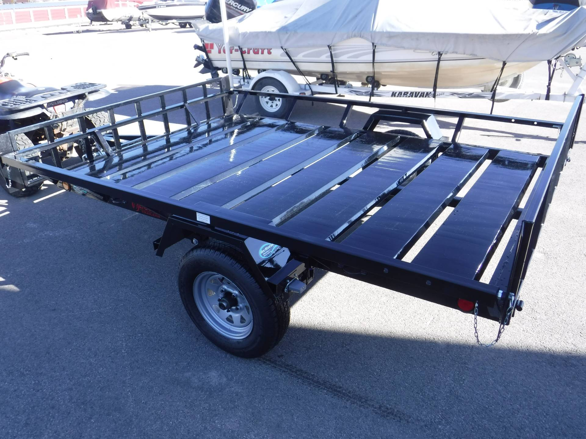 2021 Echo Trailers 2-Place Extra-Width ATV/ 1 Place UTV Trailer in Spearfish, South Dakota - Photo 2
