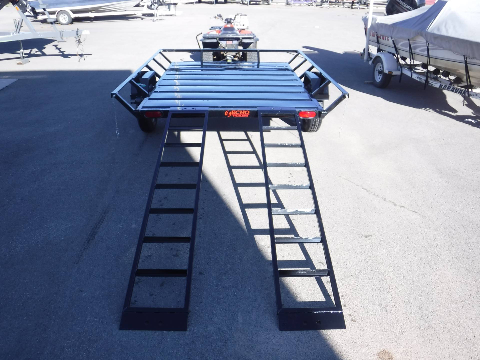 2021 Echo Trailers 2-Place Extra-Width ATV/ 1 Place UTV Trailer in Spearfish, South Dakota - Photo 7