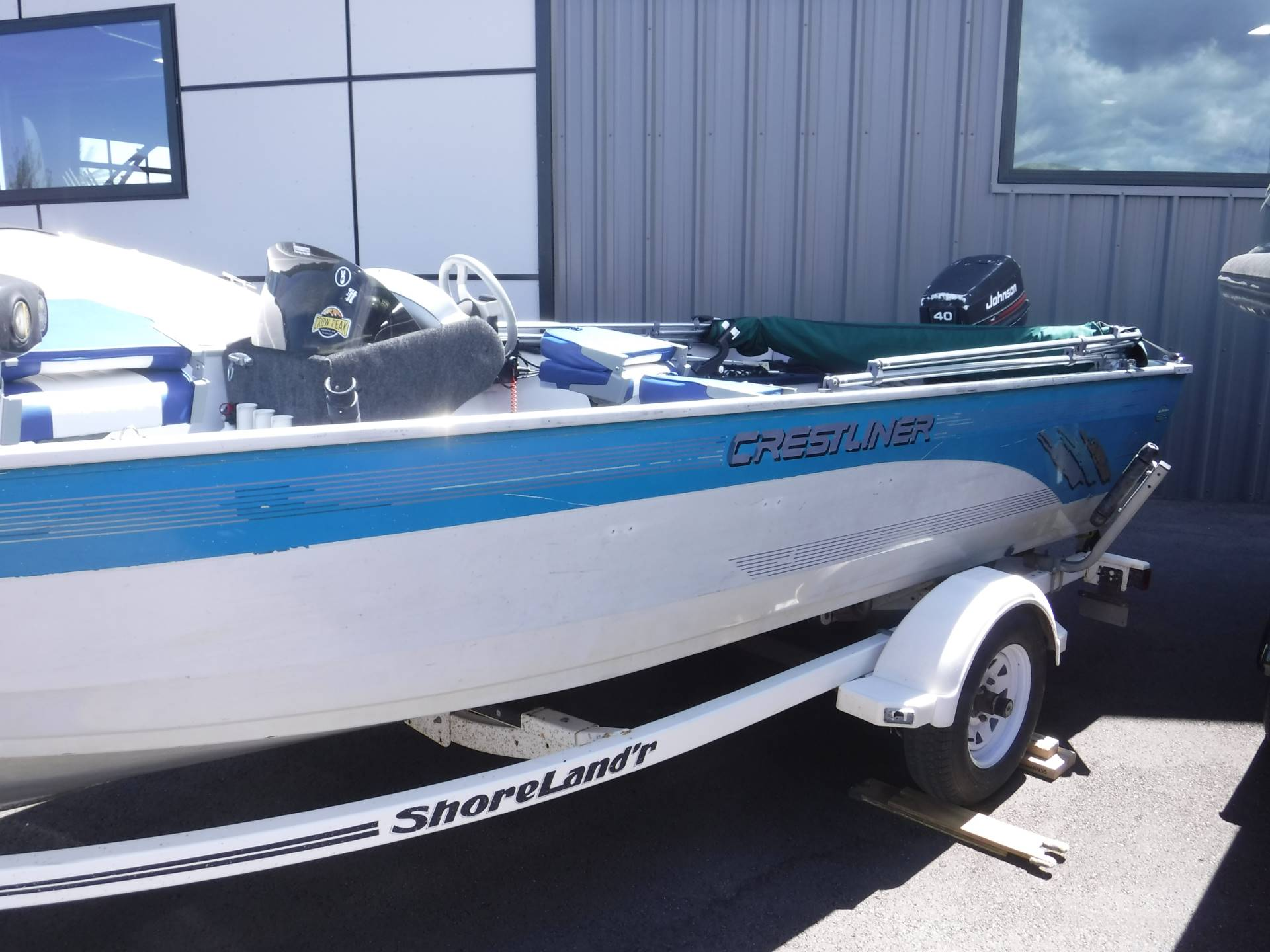 1995 Crestliner 1650 FishHawk SC in Spearfish, South Dakota - Photo 1