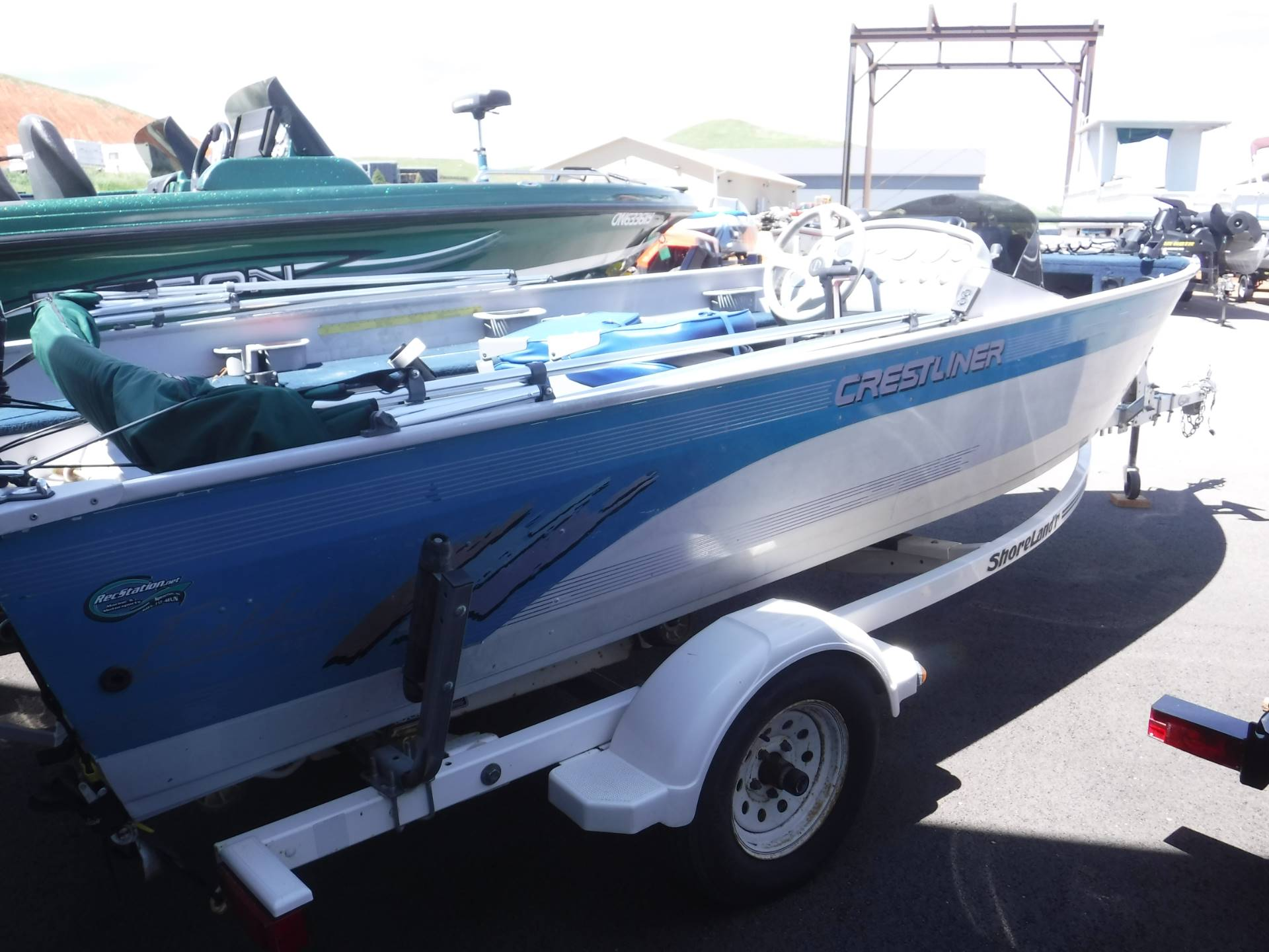 1995 Crestliner 1650 FishHawk SC in Spearfish, South Dakota - Photo 2