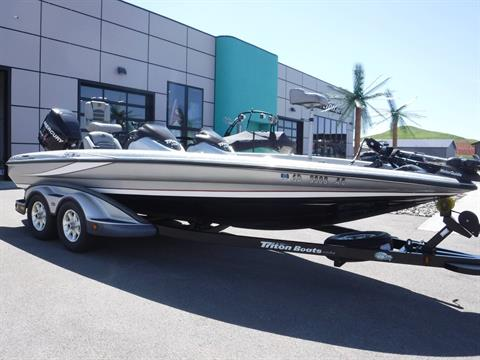 2009 Triton 20 X3 Pro DC in Spearfish, South Dakota