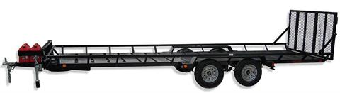 2020 Echo Trailers 4-Place ATV/UTV Trailer in Spearfish, South Dakota - Photo 2