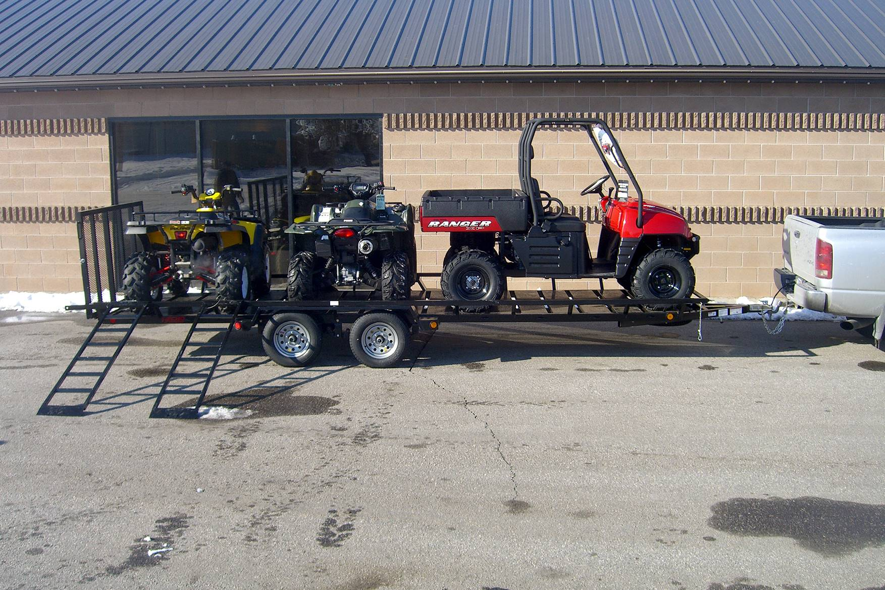2020 Echo Trailers 4-Place ATV/UTV Trailer in Spearfish, South Dakota - Photo 1