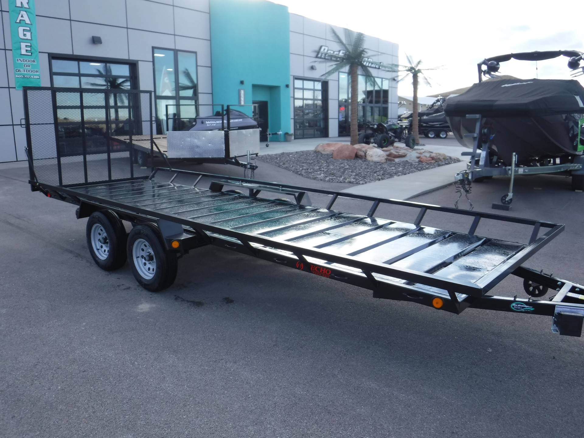 2020 Echo Trailers 4-Place ATV/UTV Trailer in Spearfish, South Dakota - Photo 5