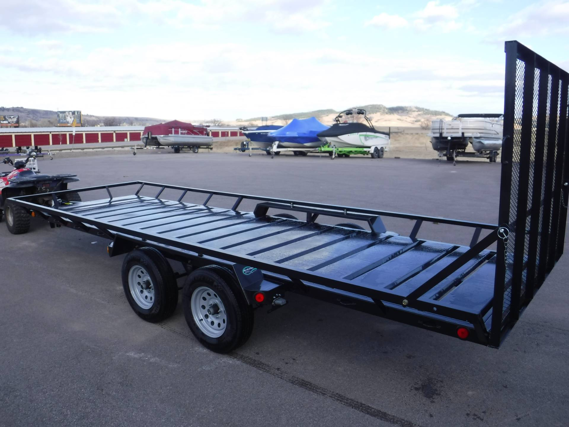 2020 Echo Trailers 4-Place ATV/UTV Trailer in Spearfish, South Dakota - Photo 14