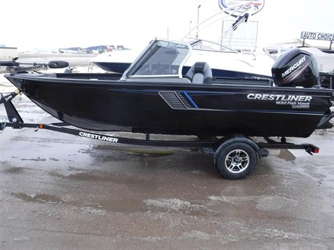 2018 Crestliner 1650 FishHawk in Spearfish, South Dakota