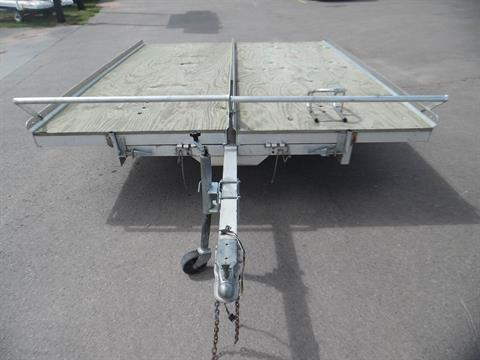 2000 Other Unique (Brand Name) Aluminum 8x10 double snowmobile trailer in Spearfish, South Dakota