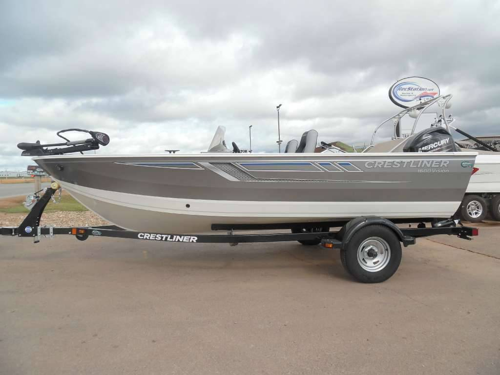 2016 Crestliner 1600 Vision in Spearfish, South Dakota - Photo 1