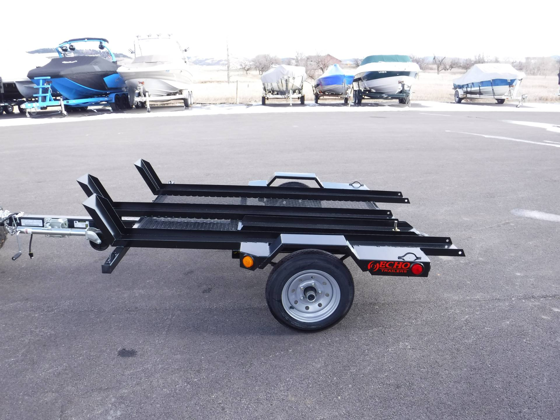2020 Echo Trailers 3-Place Motorcycle Trailer in Spearfish, South Dakota - Photo 4