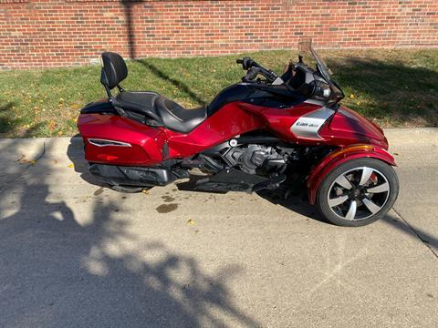 2016 Can-Am Spyder F3-T SE6 w/ Audio System in Grimes, Iowa - Photo 1